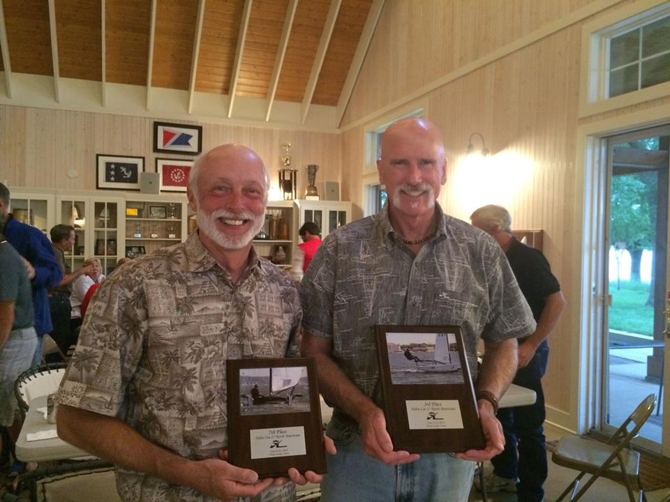Dave Stiemsma and fellow Div 10 sailor, John Bauldry.